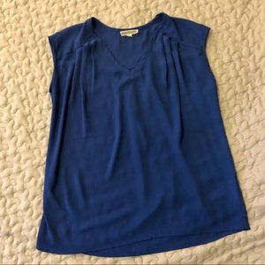 ANTHROPOLOGIE | Pleione Blue Blouse